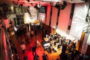 Nearly 300 guests came in costumes inspired by James Bond films,