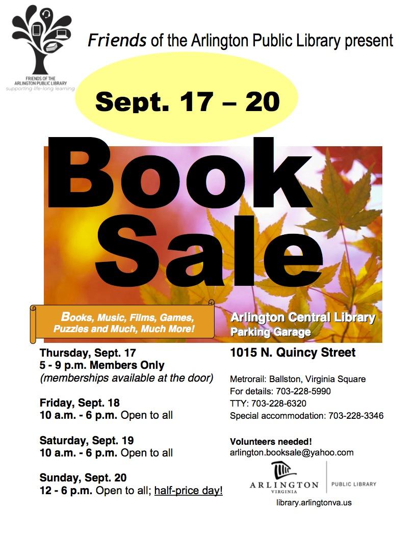 booksale fall 2015 w photo