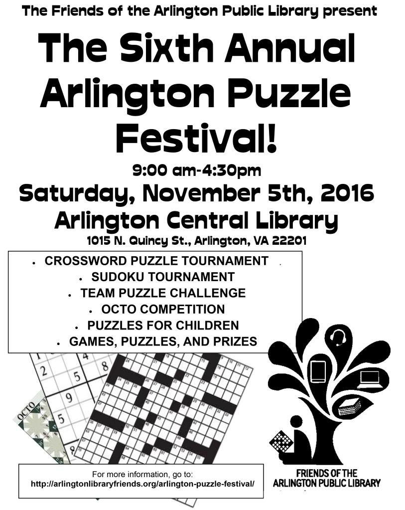 Puzzle Fest Flyer 2016